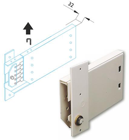 MLA209 - механизм трансформации для подъемной кровати