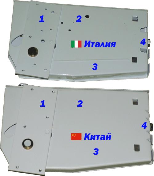 Итальянский и китайский подъемный механизм